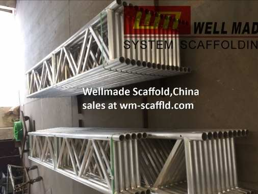 Alloy and Steel Beams for scaffolding putlog hanging scaffold system
