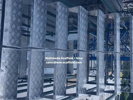 Aluminium Stairs for Australian Kwikstage Scaffold Tower Type 2