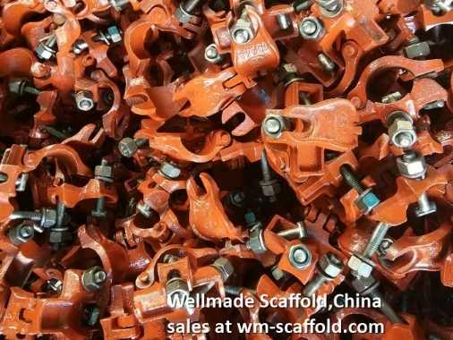 Casting Scaffolding Coupler Swivel Clamp Cheap Paiting Scaffold Tube Fittings
