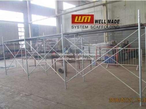 Chile Ladder Frame Scaffold