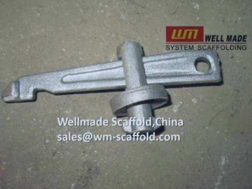 Crab 60 shoring system diagonal braces wedge pin and lock pin set
