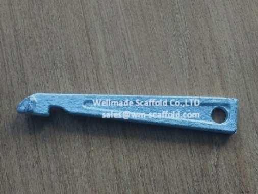 Crab 60 shoring system scaffold wedge pin parts