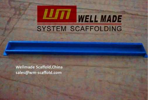 Cup lock slab formwork system infill beam components