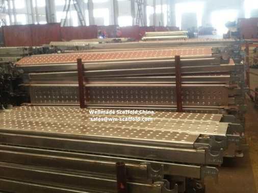 Cuplock Scaffold Plank steel scaffolding platform boards