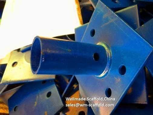 Cuplock Scaffolding Base Plate Socket Type