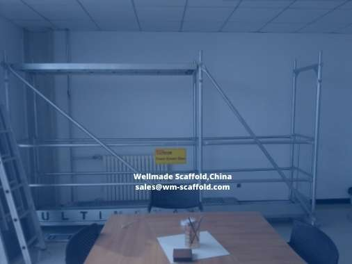 Euro Frame Scaffolding System Facade Scaffold Construction