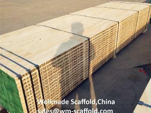 LVL Wood Scaffold Boards