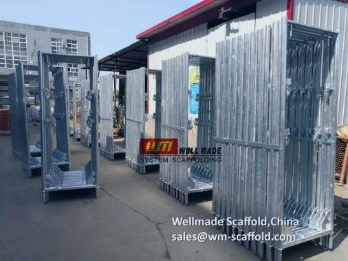 Layher Scaffolding Facade Scaffold Construction Speedy Frame System