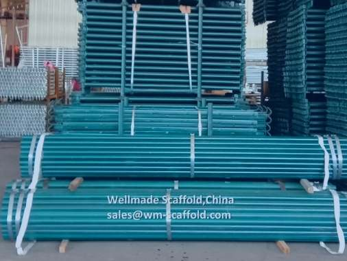Painted Scaffold Tube