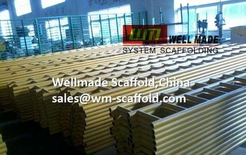 Scaffold Ladder Beams Steel Scaffolding Beam