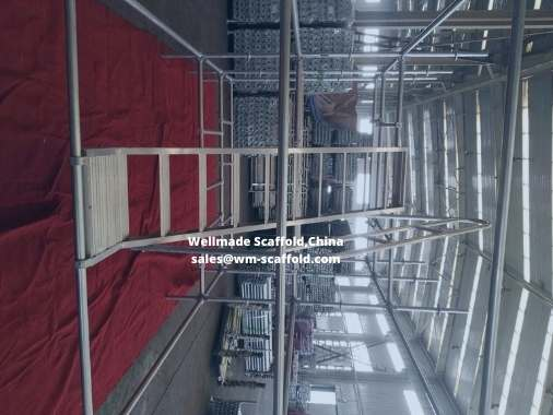 Scaffold Stair Aluminium Type for Scaffold Ringlock Tower