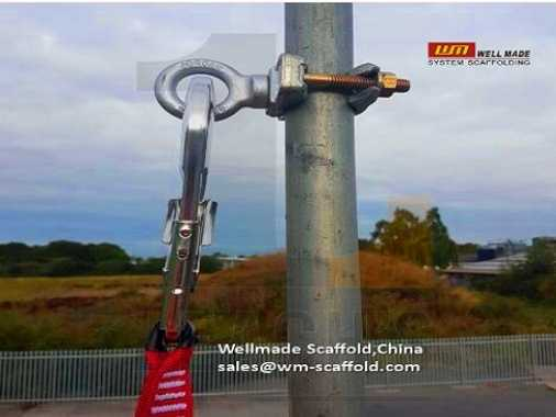 Scaffolding Jordan Safety Clamps