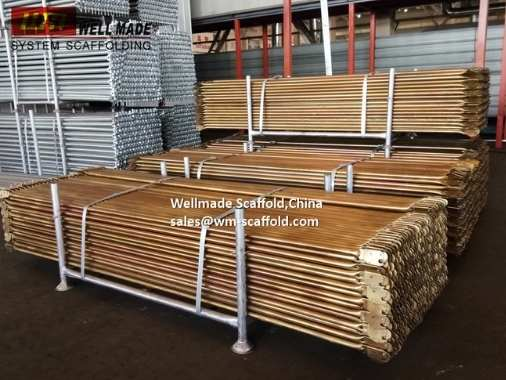 Snap On Frame Scaffolding Cross Brace to the USA American Scaffold Frame Parts