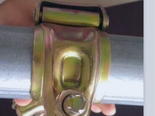 Korean Scaffolding Clamp Fixed and Swivel Coupler