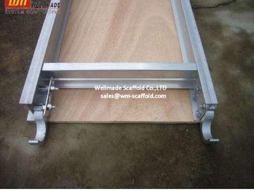Aluminium Scaffold Planks with Plywood Platform