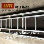 Aluminium Plank with Trapdoor and Aluminum Ladder for Access Construction Scaffolding