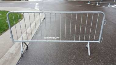Hot Dip Galvanized Crowd Control Barriers