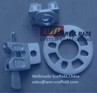 Ringlock scaffolding rosette ring disks