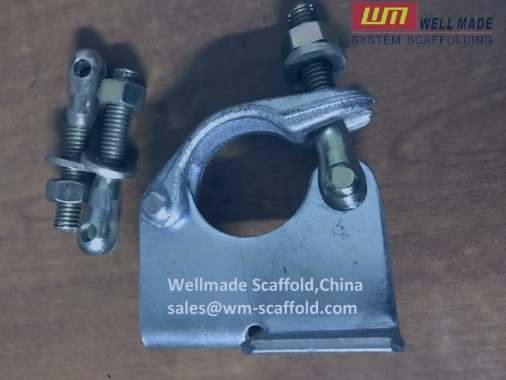 scaffolding board retaining coupler bs1139-scaffold board fittings - construction galvanized steel pipe clamp