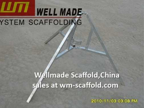 scaffolding tripod for formwork props and standard