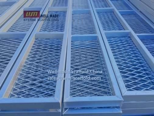 300mm Scaffold Board grating type scaffolding steel plank for shipbuilding companies