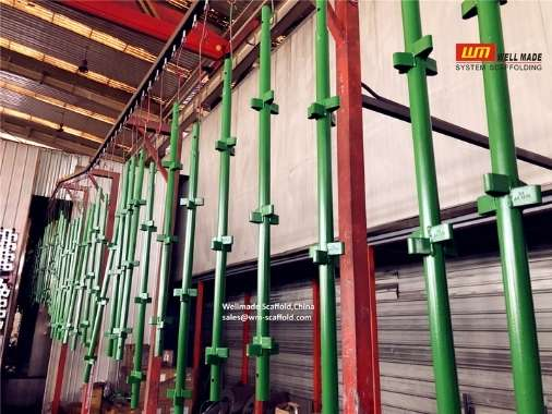 kwikstage scaffolding system in manufacturing