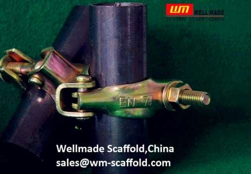 pressed steel scaffold coupler swivel clamps