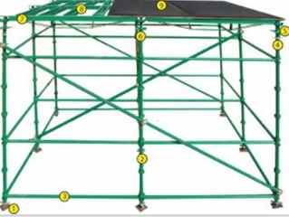 cup-lock scaffolding slab system components