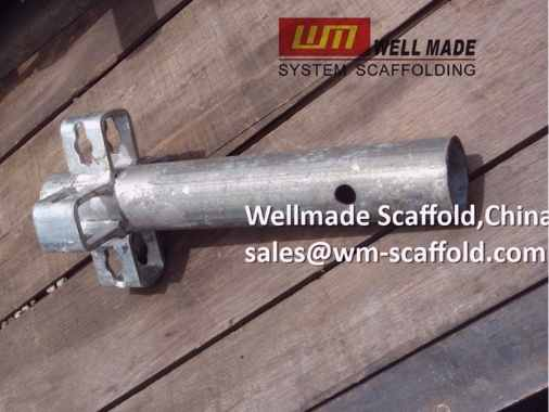 Crab 60 scaffold base standard c60 shoring system scaffold starter parts