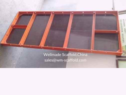Euro Form Formwork Panels with steel frame and plywood