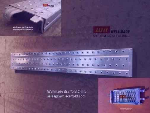Steel Scaffold Board Materials