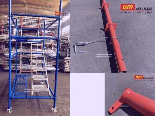 quick lock scaffolding access tower and standards ledger parts