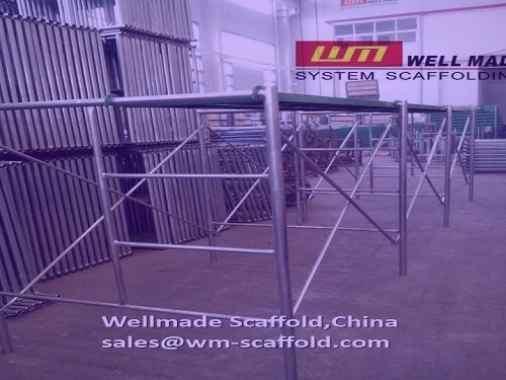 H Frame Scaffolding Tower 1219mm Width